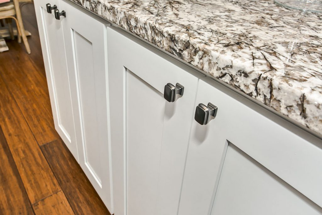 Shaker style cabinetry is both vintage and modern due to its clean and simple lines.