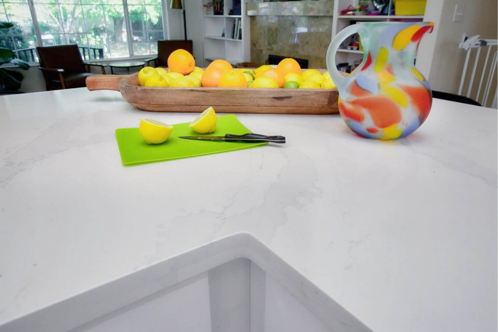Gorgeous quartz countertops