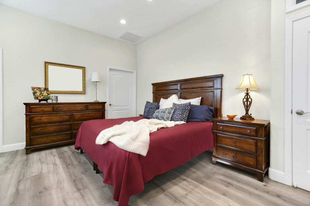 remodeled bedroom
