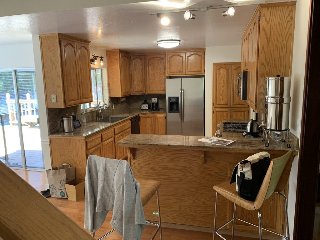 Modernizing a kitchen and living room 2