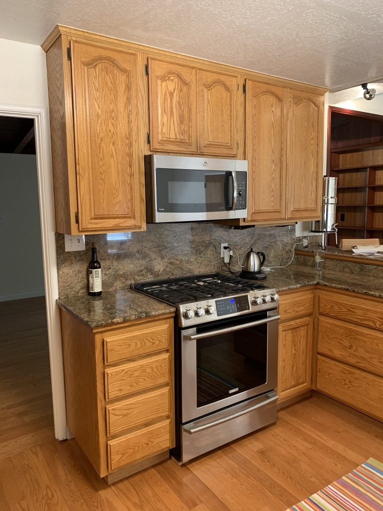Modernizing a kitchen and living room 5