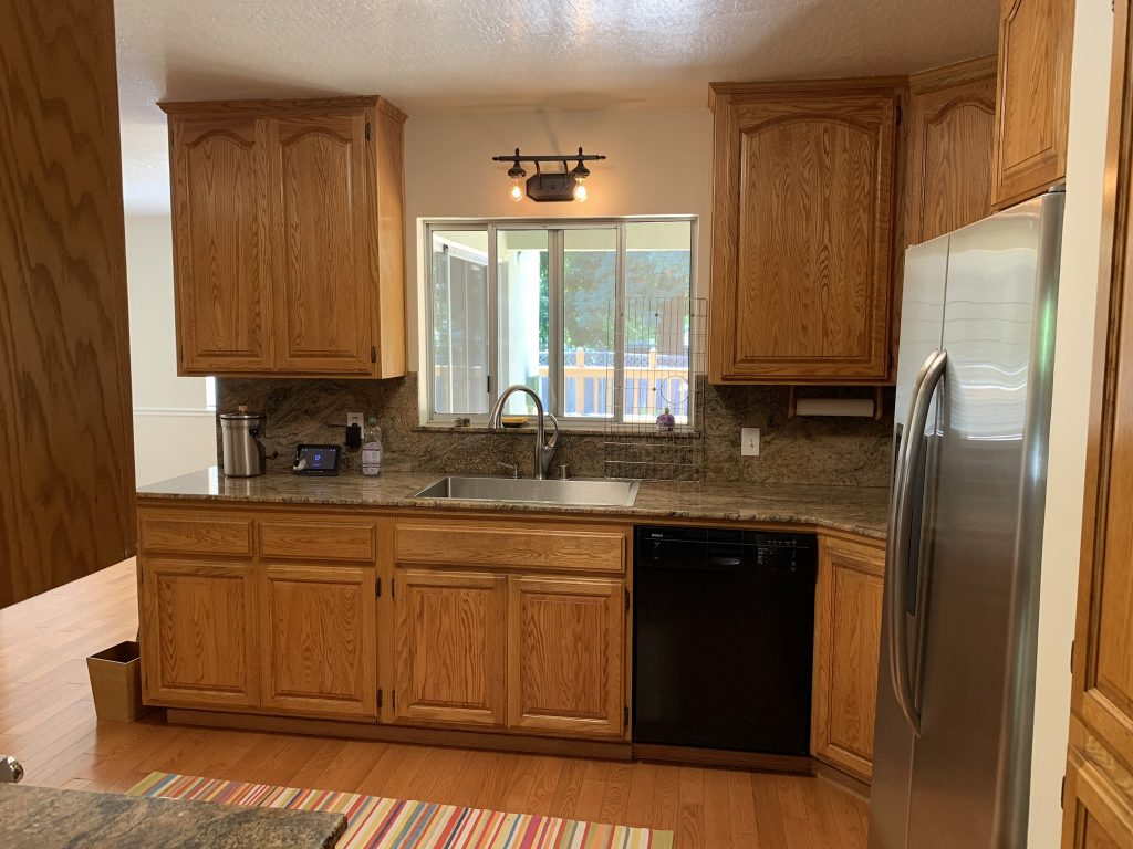 Modernizing a kitchen and living room 6