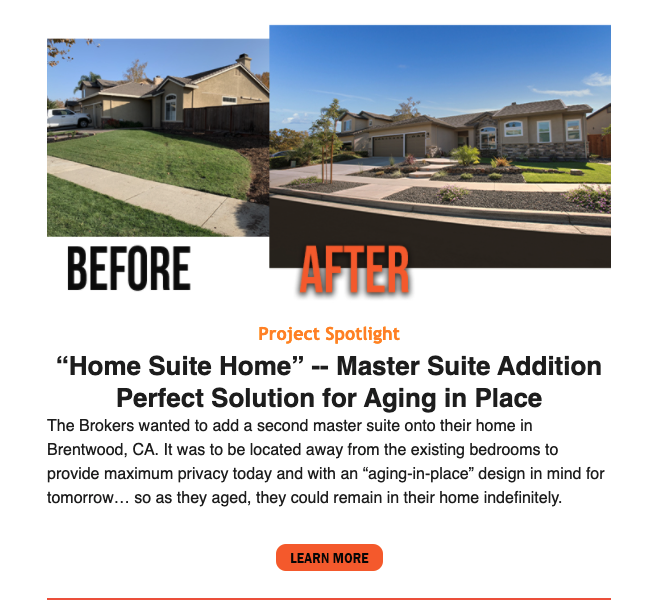 """""""Home Suite Home"""" -- Master Suite Addition Perfect Solution for Aging in Pla... 21"""