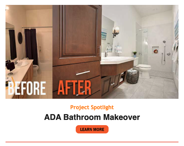 Kitchen Remodel Spotlight and ADA Bathroom Makeover 20